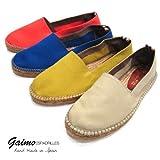 【GAIMO ガイモ】 キャンバス エスパドリーユ (CAMPESINO-LONA) ブルー (electric) 40