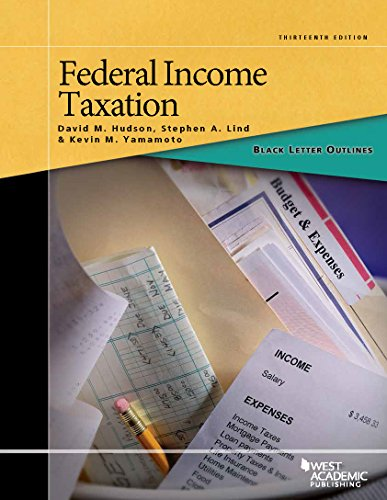Download Federal Income Taxation (Black Letter Outlines) 1628105569