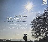 エルガー : チェロ協奏曲 他 (Sir Edward Elgar : Cello Concerto | Tchaikovsky : Rococo Variations / Jean-Guihen Queyras , BBC Symphony Orchestra , Jiri Belohlavek) [輸入盤]