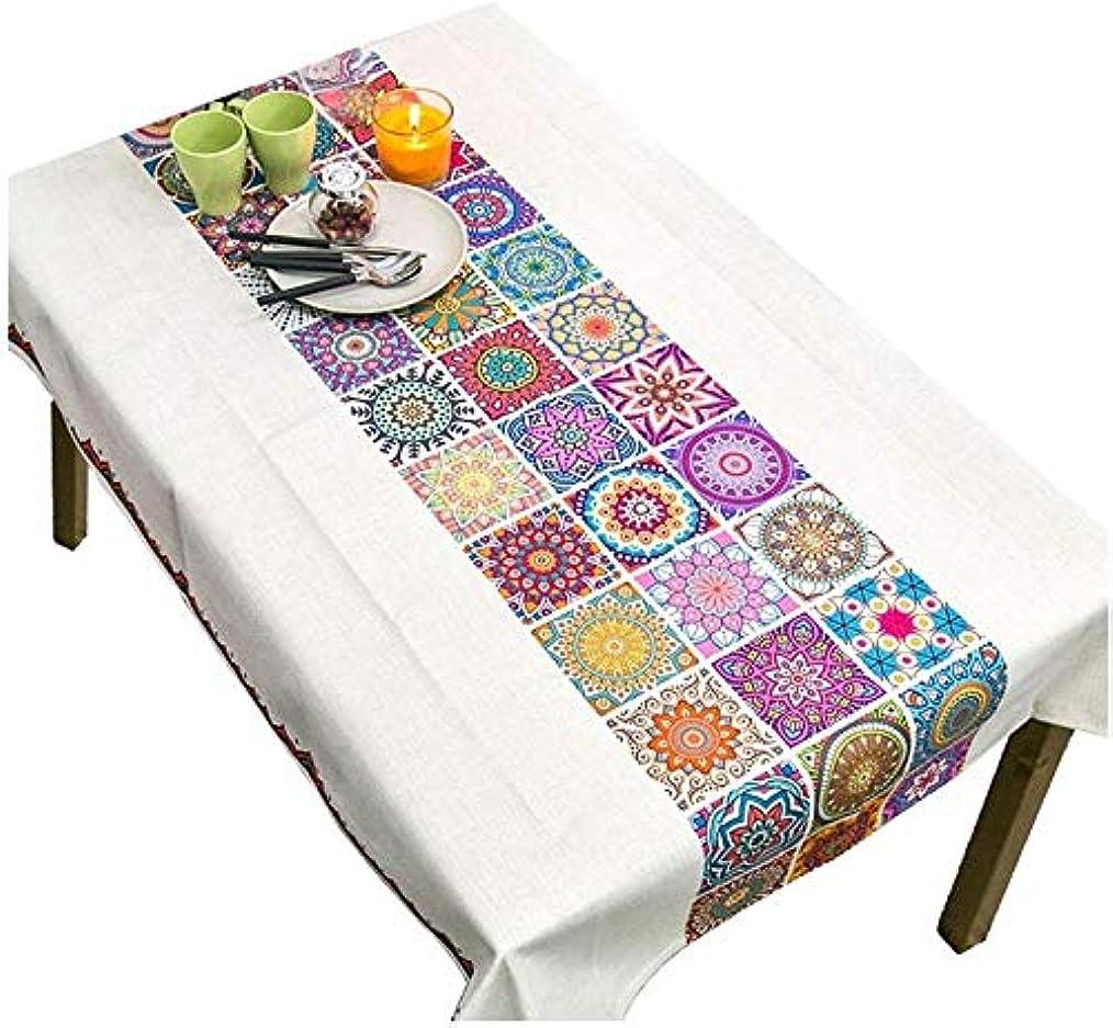 変装ピストン薄い創造的なテーブルクロス、コーヒーテーブル花テーブルクロスレストラン印刷テーブルクロスブレンド植物テーブルクロス幅100-140 CM(色:B、サイズ:200 * 140 CM)