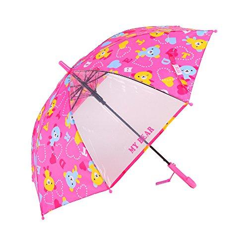 KIDS用透明窓付ジャンプ傘