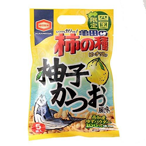 亀田の柿の種ピーナツ入り 柚子かつお風味 388