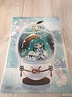 雪ミク初音ミククリアファイルSNOWMIKU2013札幌雪まつり限定