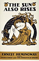 Hemingway Sun also Rises Njacket Cover 1926 アーネストヘミングウェイ初版 S Novel The Sun Also Rises ポスタープリント (18 x 24)