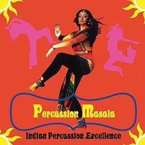 パーカッション・マサラ Percussion Masala(インドの様々なパーカッション集)