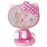 ハローキティ キティ形扇風機 ピンク