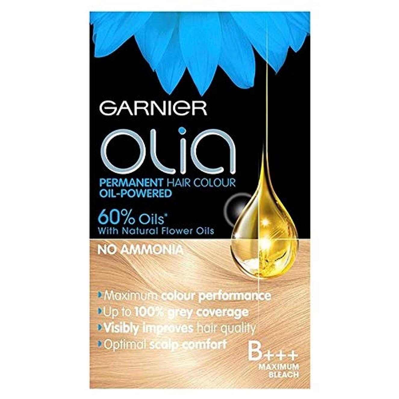 マウスピースアフリカ人測定可能[Garnier ] ガルニエのOliaのB +++最大ブリーチブロンド - Garnier Olia B+++ Maximum Bleach Blonde [並行輸入品]