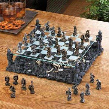 ドラゴンチェスセットElevatedガラスボード