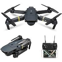 RaiFu ドローン E58 / JY019 WIFI FPV 0.3MP カメラ付き 高ホールド モード 折りたたみ式 アーム RC クワッドコッター RTF DRONE