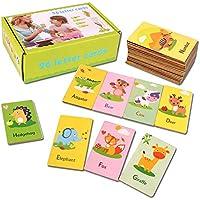 子供のアルファベットポケットフラッシュカード子供3-6歳
