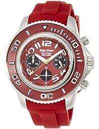 [エンジェルクローバー]Angel Clover 腕時計 シークルーズ レッド文字盤 クロノグラフ 200m防水 SC47SRE-RE メンズ