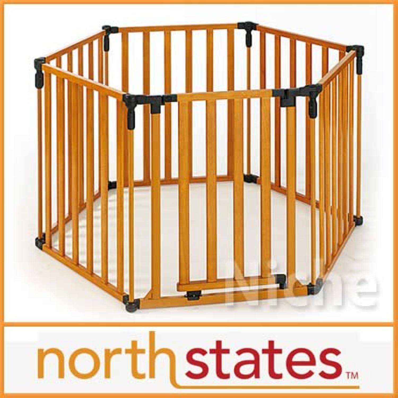【North States Superyard 】アメリカ ノースステイツ スーパーヤードセーフティフェンス(ウッド)