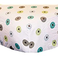 Toyland Crib Fitted Sheet - same as in set by KidsLine