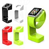 【全4色】【GTO】apple watch スタンド38mm / 42mm 対応 アップルウォッチ スタンド/充電クレードルドック/チャージャースタンド/チャージドック/充電スタンド ホワイト