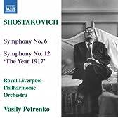 ショスタコーヴィチ:交響曲 第6番&第12番