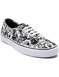 Vans (バンズ)Nintendo and Authentic Super Mario Villains Skate Shoe Villains/White 靴 スケートシューズ Men's 4.5/Women's 6 [並行輸入品]