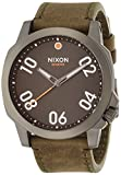 [ニクソン]NIXON RANGER 45 LEATHER: GUNMETAL/SURPLUS NA4662072-00 メンズ 【正規輸入品】