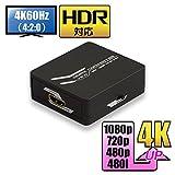 ラトック 4K60Hz(3840×2160)対応 VRSクリアビュー技術搭載 HDMIアップコンバーター(RP-HD2UP4K)