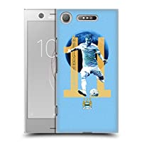 オフィシャルManchester City Man City FC Aleksandar Kolarov プレイヤー ハードバックケース Sony Xperia XZ1 / Dual