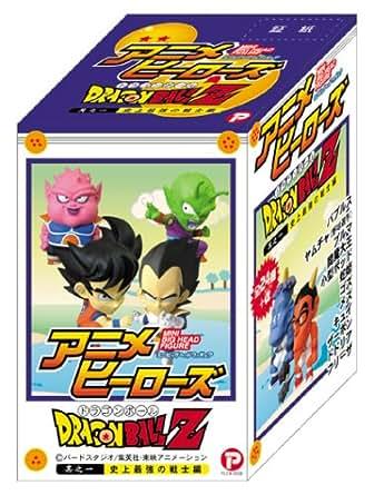 アニメヒーローズ ミニビッグヘッドフィギュア ドラゴンボールZ 其之一 史上最強の戦士編 1BOX