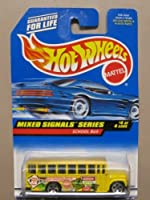 Hotwheels School Bus-Mixed Signals Series #4-4 #736