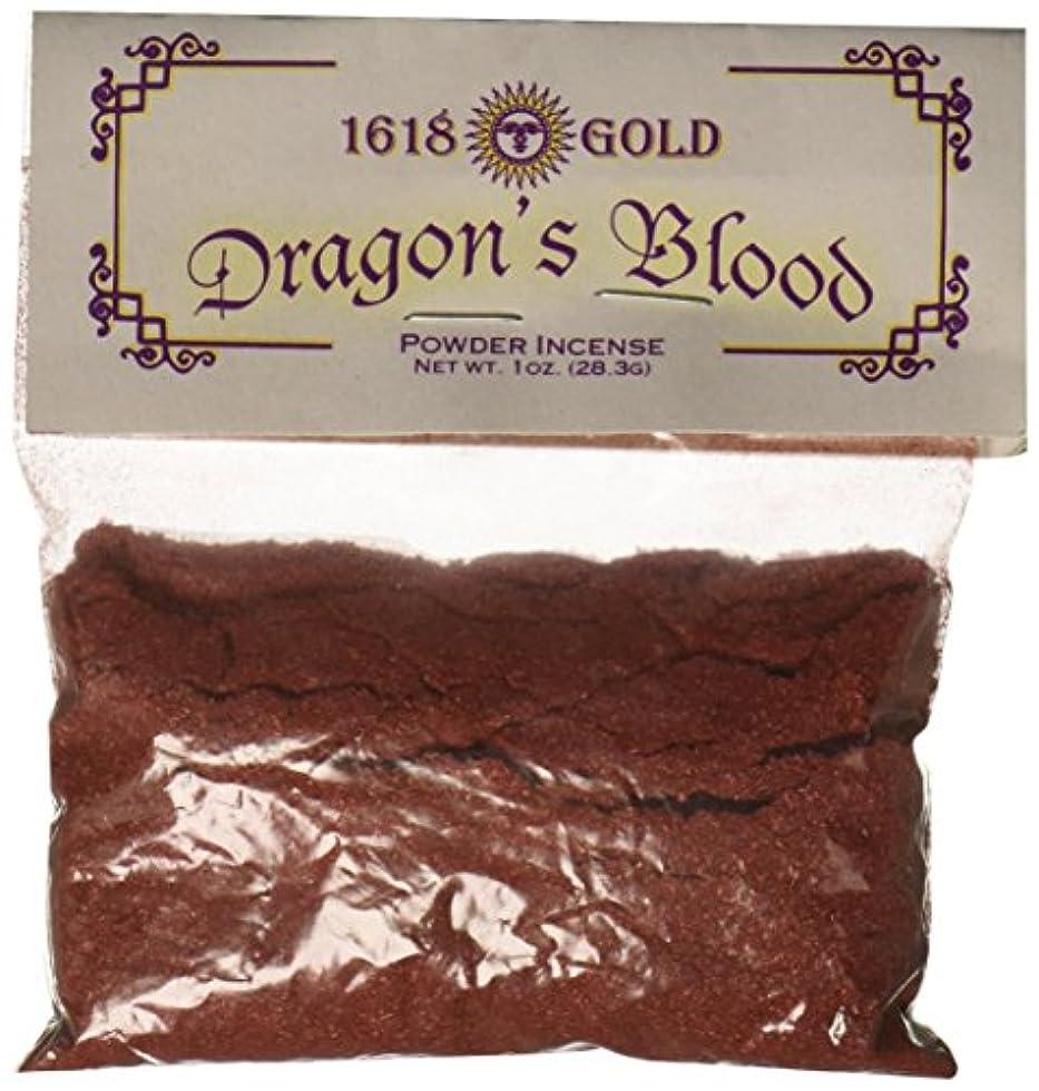 引く尊敬寄託ドラゴンブラッドパウダーIncense 1618ゴールド レッド FBA_ITE-IPGDRA-AZG|1