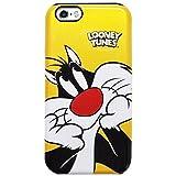 【 iPhone7 / iPhone8 共用 ケース カバー 】【★/日本国内発送】【 正規品 Looney Tunes ルーニー・テューンズ Sylvester シルベスター バンパー型 2重構造 ハード ケース 】iPhone 7 アイフォン8 ケース 【 Looney Tunes Tweety Bugs Bunny Sylvester Taz-Mania Pearl Armor Hard Case 】 アイフォン7 (4.7inch/4.7インチ) スマホケース/スマホカバー The Looney Tuens ルーニー テューンズ キャラクターケース (docomo/au/softbank対応) (機種選択 iPhone7/8 (4.7inch) )