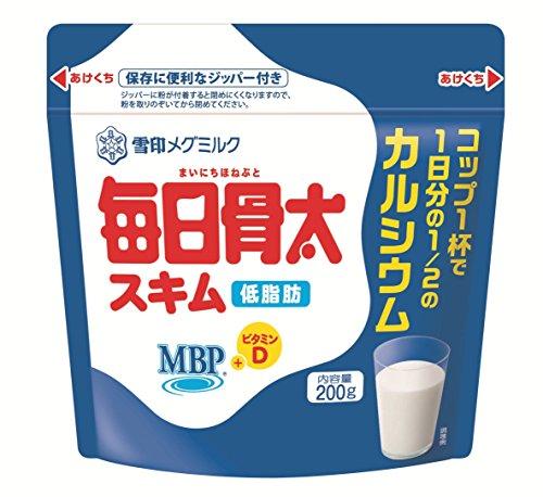 雪印メグミルク 毎日骨太MBPスキム 200g ×10セット