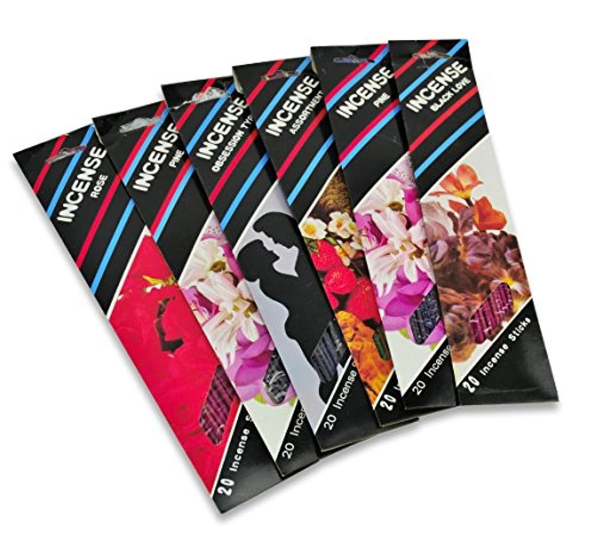 好きロッカーブレンド選択ブランドIncense Sticks 10.5インチクラシックAssorted Scentsパック480ピースプレミアム香りのSticks最も人気Scents Clean Burning ( 480のスティックパック...