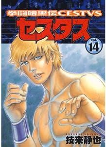 拳闘暗黒伝セスタス 14巻 表紙画像