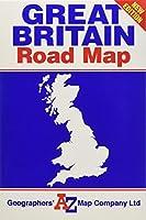 Great Britain Road Map (Road Atlas)