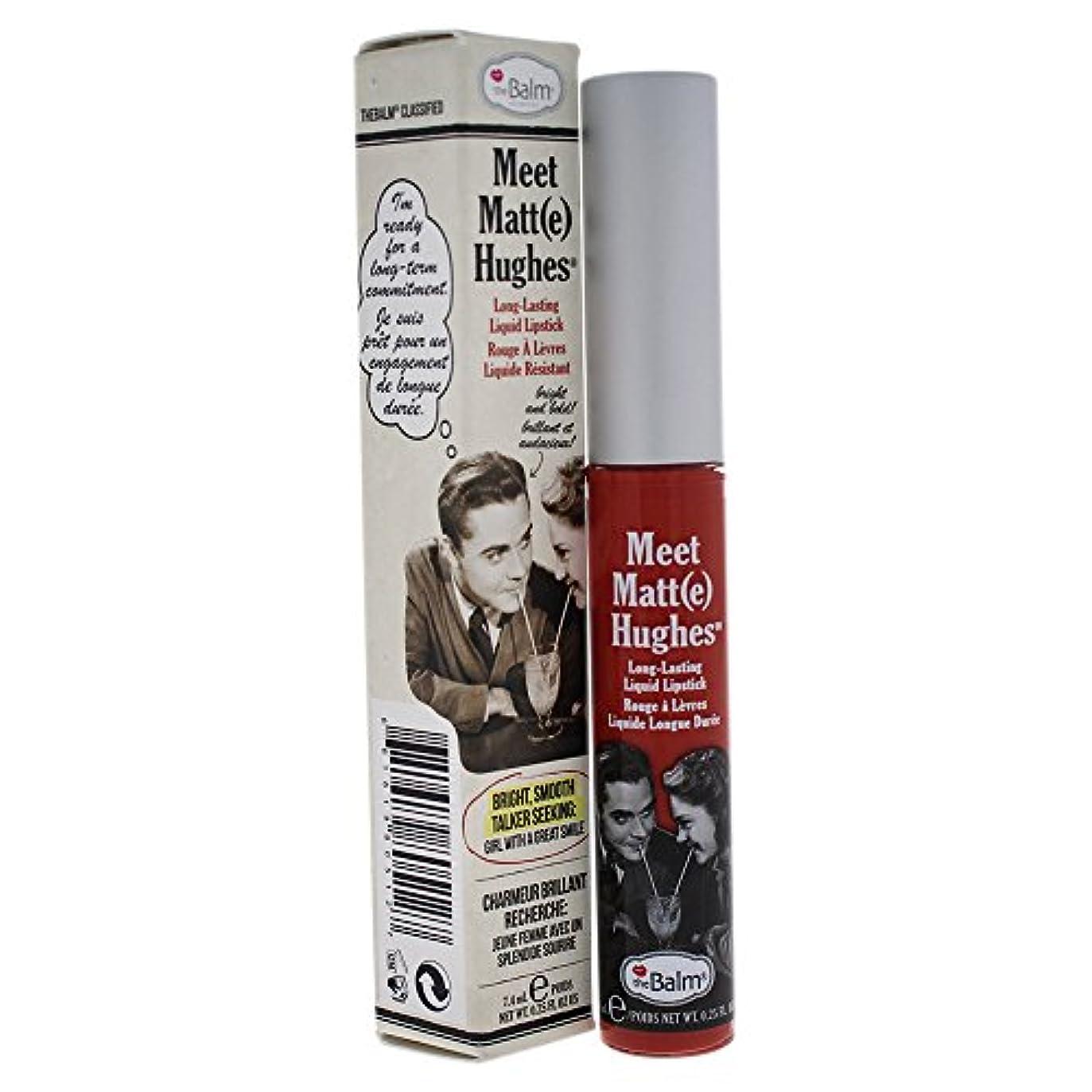 前投薬映画プレゼンターザバーム Meet Matte Hughes Long Lasting Liquid Lipstick - Honest 7.4ml/0.25oz並行輸入品