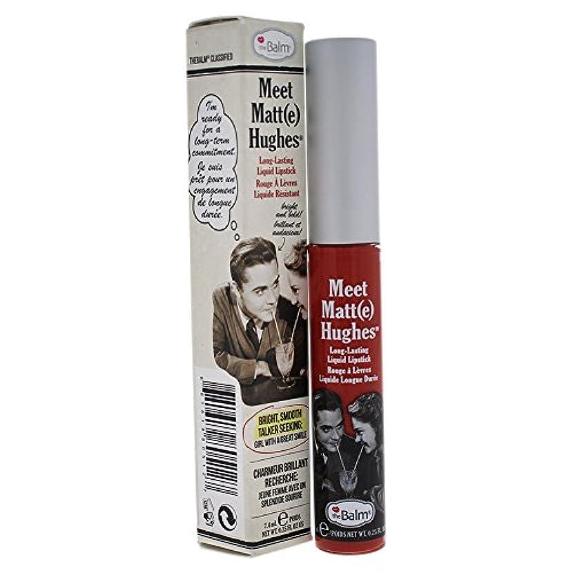 帰する存在するダイエットザバーム Meet Matte Hughes Long Lasting Liquid Lipstick - Honest 7.4ml/0.25oz並行輸入品