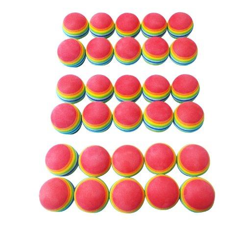 ゴルフ 練習用 ウレタンボール30個セット ゴルフ練習/ゴルフボール/ボール ゴルフ/golfボール/