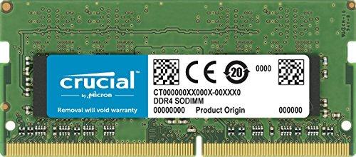 DDR4 ノート用メモリー 4GB 2400MT/s / PC4-19200 / 260pin / SODIMM 永久保証 CT4G4SFS824A