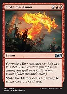 Magic: the Gathering - Stoke the Flames (164/269) - Magic 2015 - Foil by Wizards of the Coast [並行輸入品]