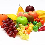 BeeYond フルーツ 食品サンプル セット ディスプレイ キッチン おままごと (果物:20種27個セット) BYD-FSF27