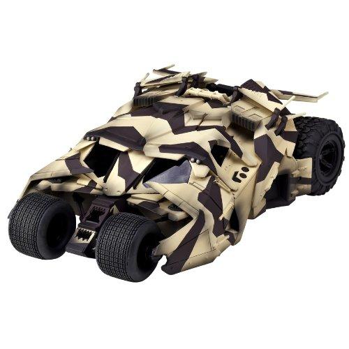 特撮リボルテック043EX バットマン・ビギンズ ダークナイト ダークナイト・ライジング バットモービルタンブラー カモフラージュVer. ノンスケール ABS&PVC製 塗装済み アクションフィギュア