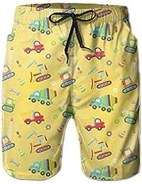 貨物自動車 メンズ サーフパンツ 水陸両用 水着 海パン ビーチパンツ 短パン ショーツ ショートパンツ 大きいサイズ ハワイ風 アロハ 大人気 おしゃれ 通気 速乾