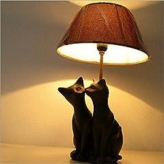 テーブルランプ ベッドサイドランプ かわいい おしゃれ 猫 照明 ネコランプスタンドC [swa2614]