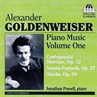 Piano Music 1 by ALEXANDER GOLDENWEISER (2006-08-01)