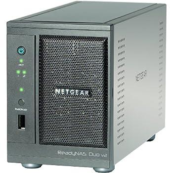 NETGEAR ReadyNAS Duov2 【3年保証】 2ベイ デスクトップ型NAS(ベアボーン) RND2000-200AJS