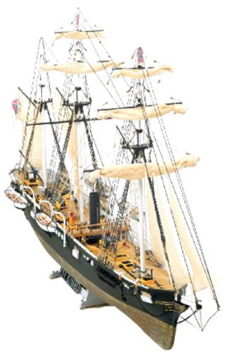 木製帆船模型 マモリ社 MV53 CSSアラバマ C.S.S. ALABAMA
