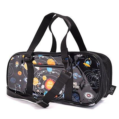 格上スタイルのキッズ絵の具セット・サクラクレパス 太陽系惑星とコスモプラネタリウム(ブラック) 日本製 N2114310