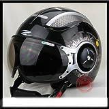 ヘルメットバイク ジェットタイプ ZEUS MOTOモデル限定版 XL(59-60)