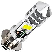 Discover winds 超高輝度 バイク PH7 LEDバルブ COB LED P15D ヘッドライトバルブ 無極…