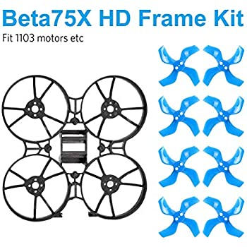 BETAFPV  Tiny Whoop Plastic Canopy Blue and Transpartent for FPV Tiny Whoop Xx