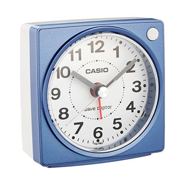 カシオ コンパクトサイズ電波時計の紹介画像4