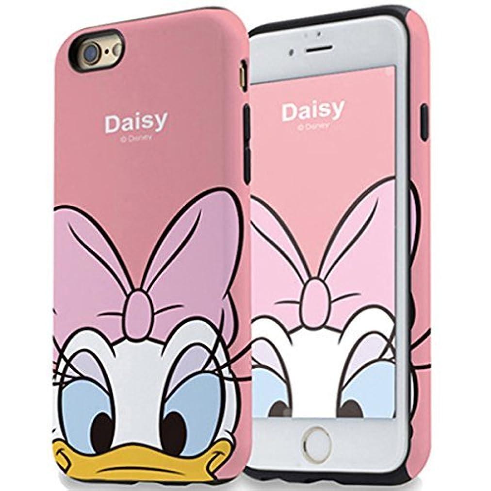 討論ブルジョン対象ディズニー トゥインクル iPhone XS iPhone X 専用 ダブル バンパー ケース (iPhoneXS/iPhoneX専用, デイジー)