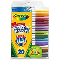 Crayola Super Tips with Silly Scents Washable (3-Pack) (並行輸入品)